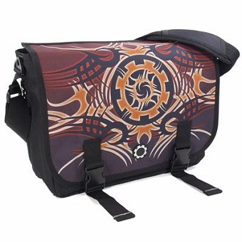 DadGear Messenger Diaper Bag - Tribal