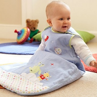 GroBag - Baby Sleeping Bag - Little Aliens