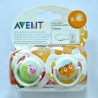 Philips AVENT Classic Animal Pacifiers - 2 Pack
