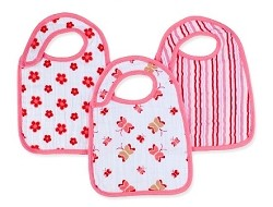 Aden and Anais Classic Snap Bibs - 3 Pack