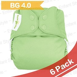 bumGenius 4.0 One-Size Cloth Diaper - 6 Pack