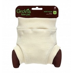 GroVia Kiwi Pie Pull On Wool Cover