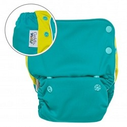 GroVia Wacky All In One Cloth Diaper