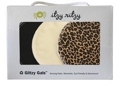 Itzy Ritzy Washable Nursing Pads - 3 Pairs Pack