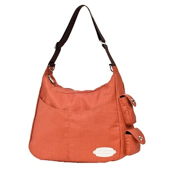 JJ Cole Boutique Diaper Bag - ZOEY Bag - Orange Chocola