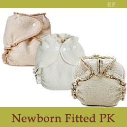 Mix Fitted Cloth Diaper Package for Newborns