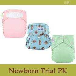 Modern Cloth Diaper Package for Newborns