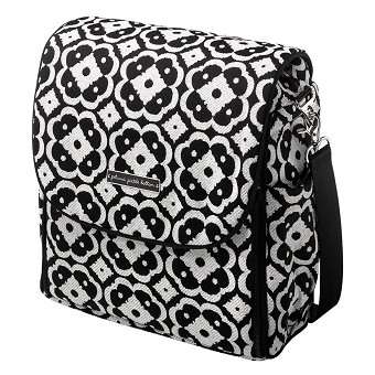 Boxy Backpack - Licorice Blossom
