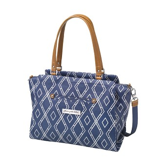 Statement Satchel - Indigo