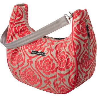 Touring Tote - Almond Raspberry
