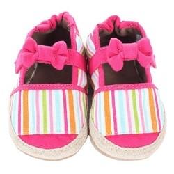 6235af765 Robeez Soft Soles - Baby Shoes - Stripe Espadrille