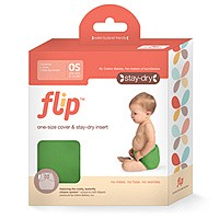 Flip: Individual Pack - One-Size Diaper Cover and Stay Dry / Organic Insert