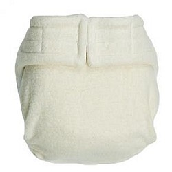 Happy Hempys Fitted Diaper with Fleece (NEW one size Hempys available)
